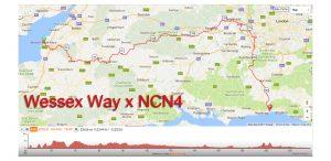 wessex way + NCN4 header