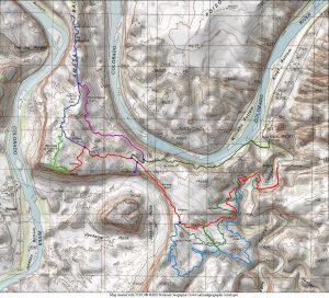 Amasa trail system