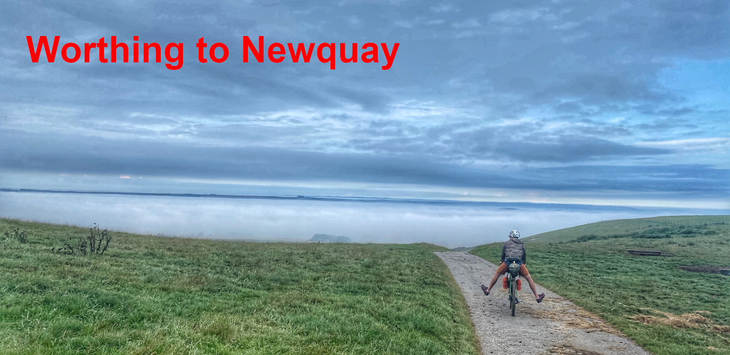 Worthing to Newquay bikepacking trip